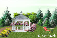 Garden design:Peace zone