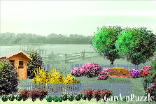 Garden design:By the lake