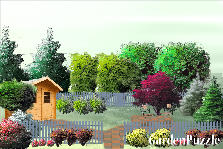 Garden design:Garden design for small allotment