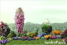 Garden design:Cottage garden