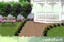 Garden design:simplicity is beauty