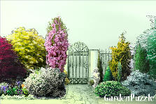 Garden design:the gate