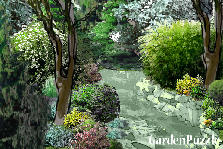 Garden design:...brook...