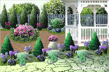 Garden design:peacefull place