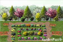 Garden design:labirint