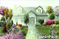 Garden design:home sweet home