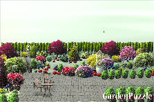 Garden design:nelson condo  Kitchen view
