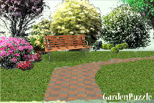 Garden design:ovest sight