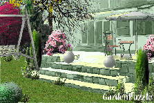 Garden design:Tea time