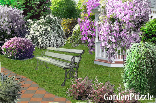 Garden design:sit down please :) - Spring
