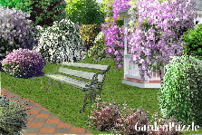 Garden design:sit down please :)