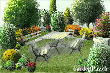 Garden design:relaxing garden