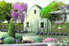 Garden design:dream house