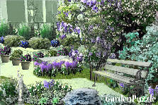 Garden design:little corner