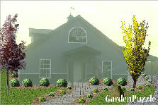 Garden design:front of home