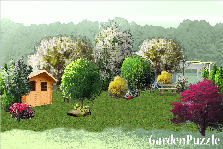Garden design:Back yard 2