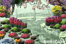 Garden design:riverwalk
