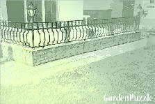 Garden design:balcony
