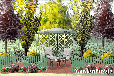 Garden design:just the two of us