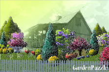 Garden design:country cottage 1