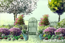 Garden design:The Entrance