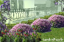 Garden design:Balcony view