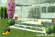 Garden design:backyard porch