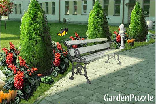 Garden design:before school - Spring