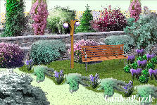 Garden design:Purple haze