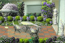 Garden design:spring has come..