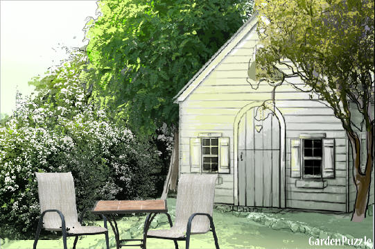 Garden design:my house - Spring