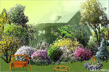 Garden design:Farm House