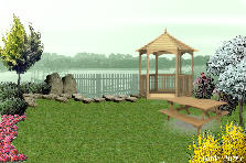 Garden design:Hacia el Lago