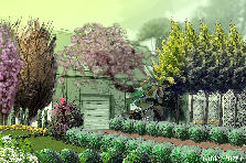 Garden design:other house