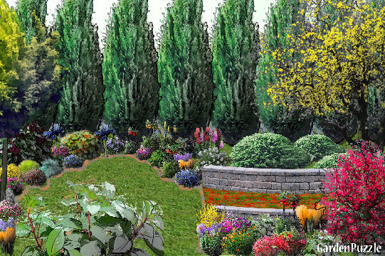 Garden design:My private garden!!! - Spring