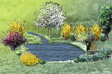Garden design:By the desert oasis