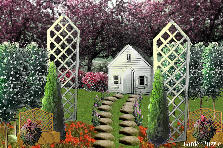 Garden design:house of dreams