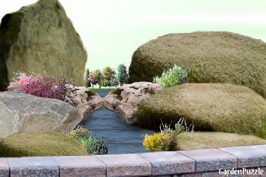 Garden design:lovers lane - Spring