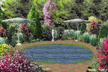 Garden design:My Secret Pond