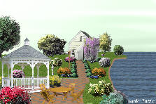 Garden design:seaside maner