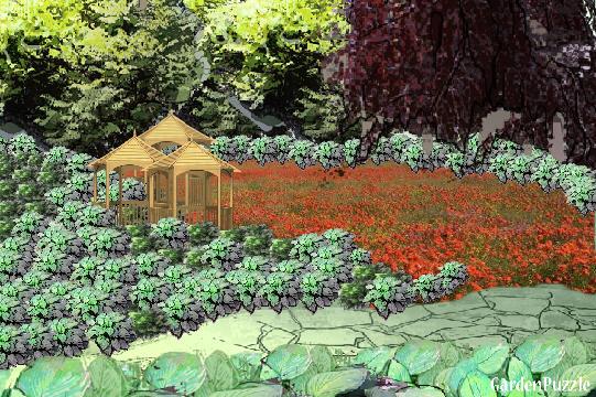 hosta takeover GardenPuzzle online garden planning tool