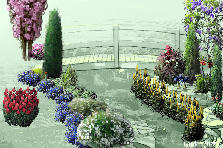Garden design:bridges