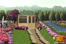 Garden design:Heaven garden
