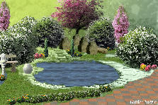 Garden design:Bohon