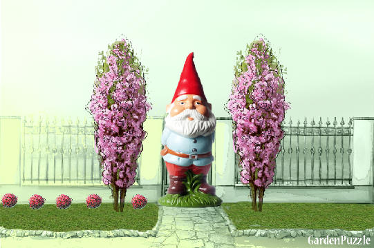 Garden design:gnome_world_gate_keeper - Spring