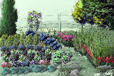 Garden design:Riverside