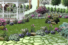 Garden design:Arbor