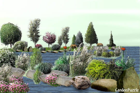 Garden design:low tide in charleston sc. - Spring