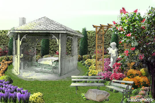 Garden design:Garden - Spring