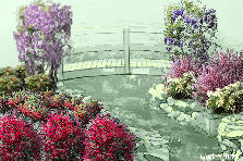 Garden design:Down by the River